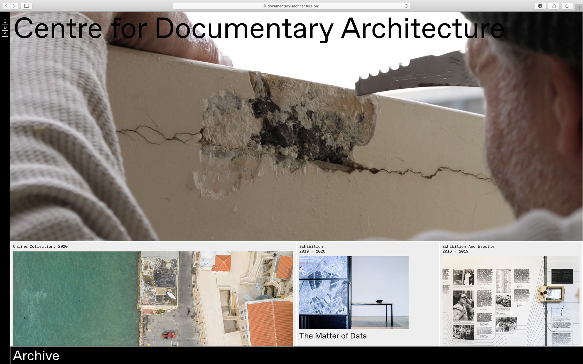 Centre for Documentary Architecture