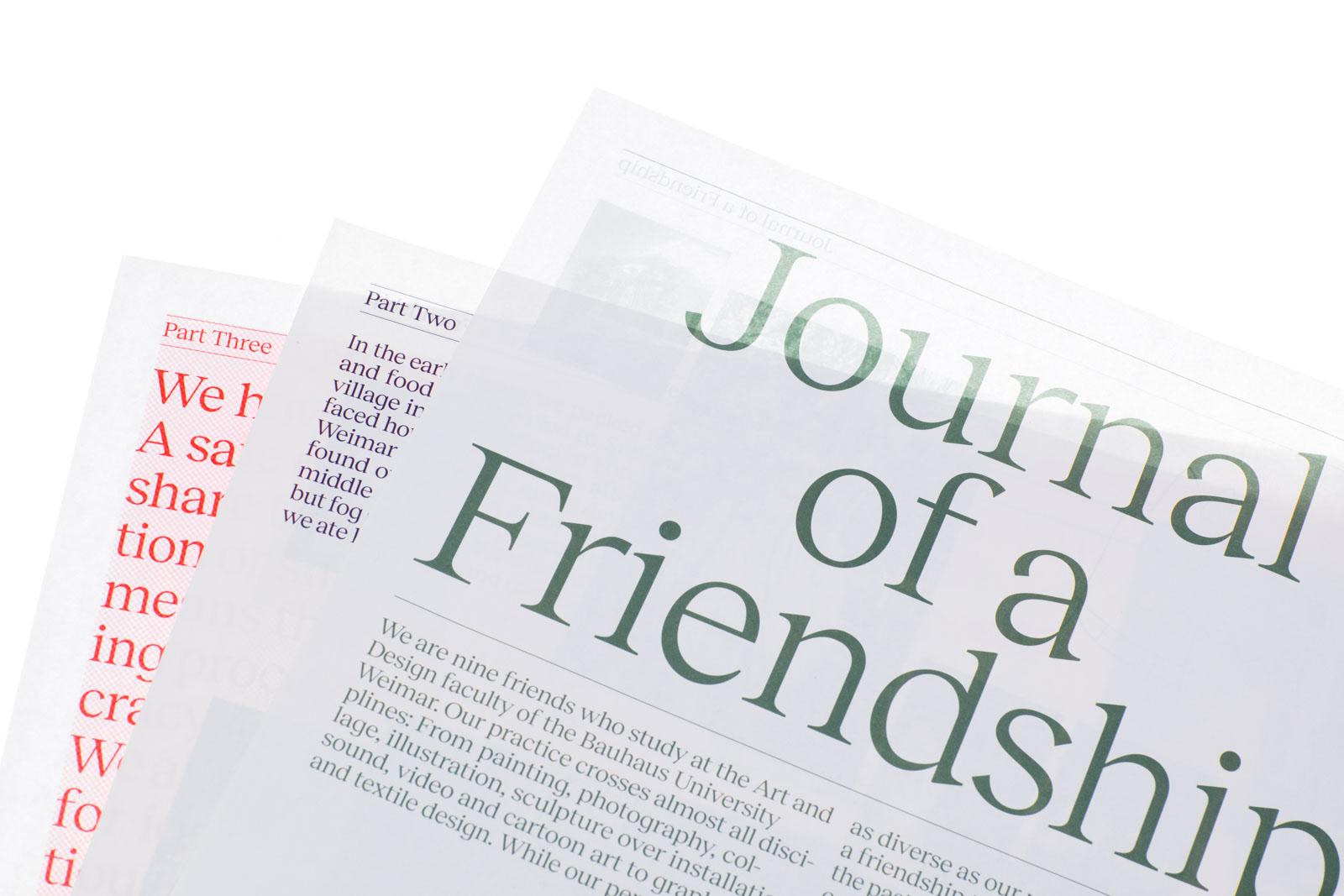 Journal of a Friendship